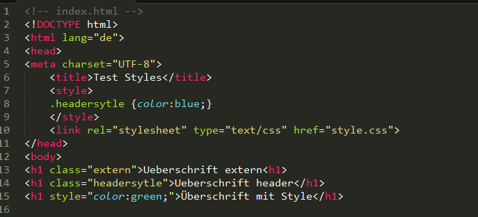 html-style